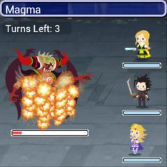 Magma.