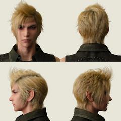 Prompto's character model.