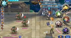 FFLTnS Battle System
