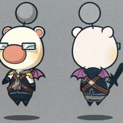 Artwork of the moogle of Class Tenth.