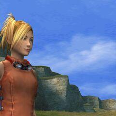 Rikku in the Calm Lands.