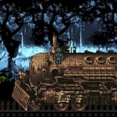 The Phantom Train's locomotive (GBA).