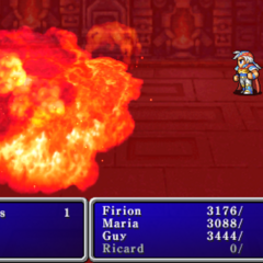 Fire10 cast on the enemy party in <i><a href=