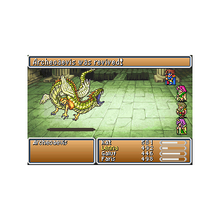 Archeoaevis revived. (GBA)