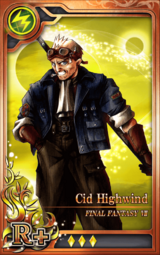 FF7 Cid Highwind R+ L Artniks