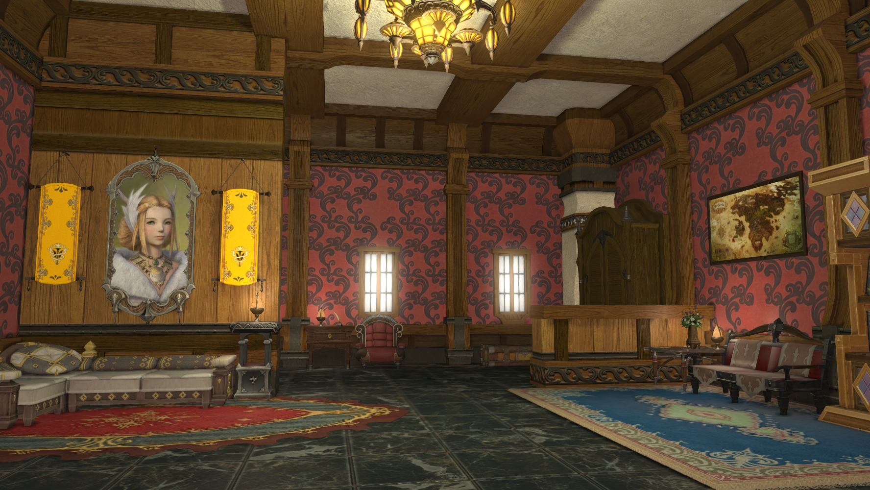Image Ffxiv Personal Chamber Png Final Fantasy Wiki