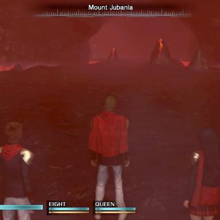 Inside Mount Jubanla.