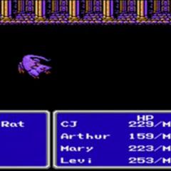 <i>Final Fantasy III</i> (NES).