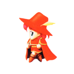 Lenna as a Red Mage.