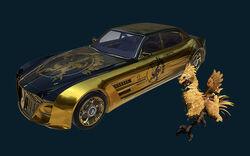 FFXV Regalia Golden Chocobo