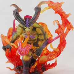 <i>Final Fantasy VII</i> Ifrit from Final fantasy Master Creatures.