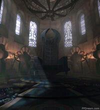 Centra throne