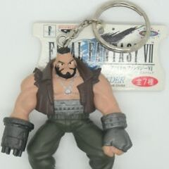 Keychain available after the release of original <i>Final Fantasy VII</i> from Japanese crane catch games.