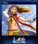 FFXX2 HD Steam Card Rikku