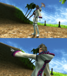 Paine White Mage Victory Pose