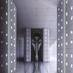 Concept art of the Narthex.