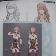Artwork from the <i>Final Fantasy XIII-2 Ultimania Omega</i>.