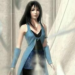 Rinoa in the opening sequence.