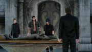 Party and Ancient King FFXV