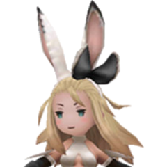 Bravo Bunny (Japanese version) in <i>Bravely Second</i>.