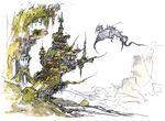 Amano FFV Dragons