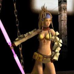 Rikku in <i>Dead Fantasy</i>.
