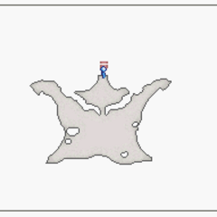Map of Underground Falls (DS).