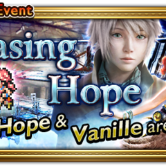 Global event banner for Chasing Hope.