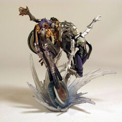 <i>Final Fantasy XIII</i> Shiva Sisters in Final Fantasy Creatures Kai Vol. 3 series.