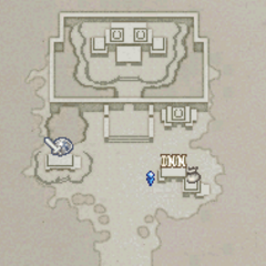 Map of the outers of Mysidia (DS/iOS).
