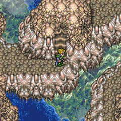 The party at the Floating Continent (GBA).