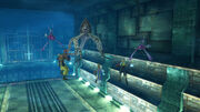 Tidus and wakka fight in the sewers