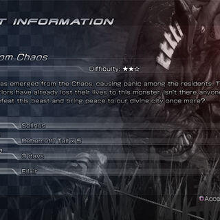 Detailed quest information.