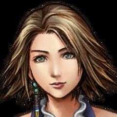Yuna's Songstress portrait.