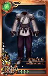 FF11 Arhat's Gi R+ Artniks