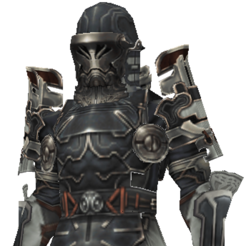 The character model for a regular Imperial soldier is used for both Gibbs and Deweg.