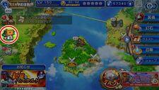 Final Fantasy Legends Toki no Suisho Map