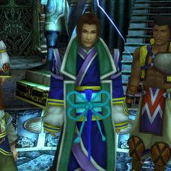 Maroda as Isaaru's Guardian in <i>Final Fantasy X</i>.