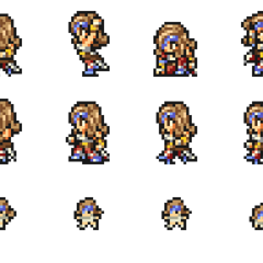 Set of Beatrix's sprites.