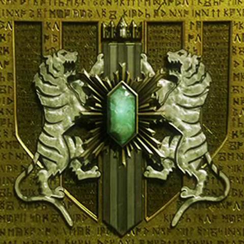 Detailed Militesi Empire logo.