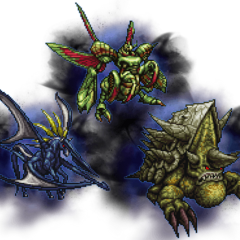 Ultimate Amdusias, Abadon, & Shell Dragon.