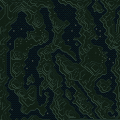 The Serpent Trench's map (SNES).