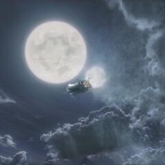 The <i>Lunar Whale</i> in the opening FMV of <i>Final Fantasy IV</i>.