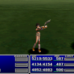 Yuffie using Manipulate.