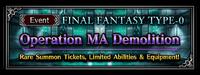 FFBE Event- Operation MA Demolition