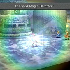 Successful Eat attempt in <i>Final Fantasy IX</i>.