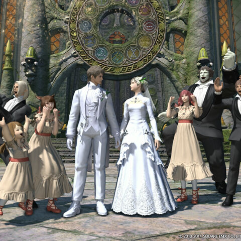 Players getting married.