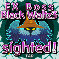 Black Waltz3 sighted inside Gate Crystal.