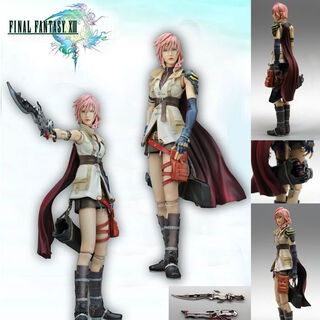 Lightning's Play Arts Kai for <i>Final Fantasy XIII</i>.