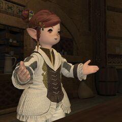 Momodi at the Adventurer's Guild.